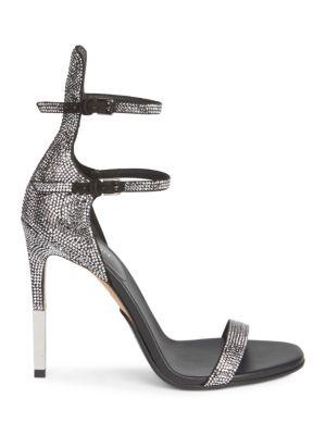 Elvira Strass Rhinestone Sandals