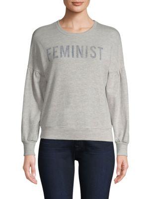 Feminist Sweatshirt, Gray