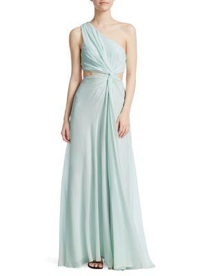 Goldie Silk Gown