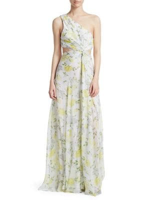 Goldie Floral Gown