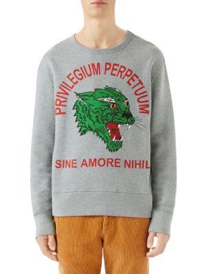 Panther Graphic Sweatshirt