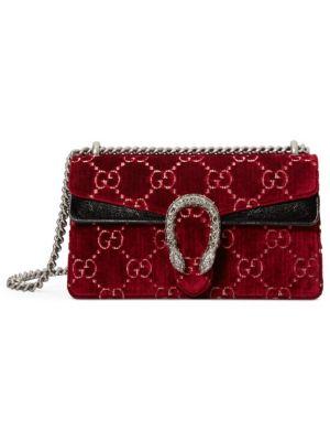Dionysus GG Velvet Small Shoulder Bag