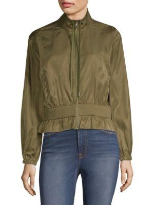 Utilitarian Cropped Jacket