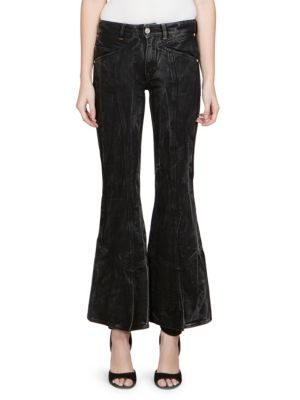 Washed Flare Jeans