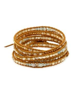Mixed Bead Wrap Bracelet