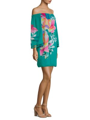 California Dreaming Amaris Off-The-Shoulder Dress