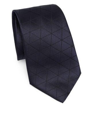 Diamond Check Tie