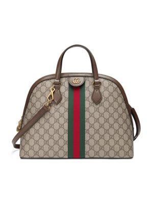 Ophidia GG Medium Top Handle Bag