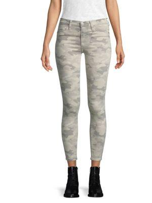 Nico Twill Ankle Skinny Jeans