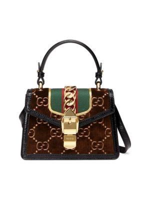 Sylvie GG Velvet Mini Bag