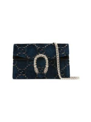 Super Mini Dionysus Velvet Chain Wallet