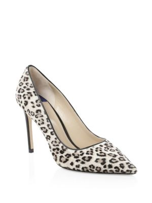 Leigh Calf-Hair Pumps