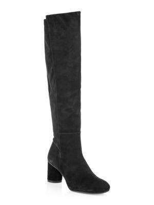 STUART WEITZMAN Eloise Suede Tall Boots