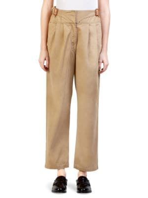 Buckle Chino Trousers