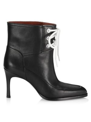 3.1 Phillip Lim Agatha Leather Lace-Up Booties zm31ridNRj