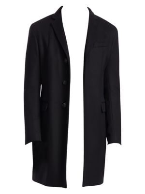Wool Cashmere Top Coat