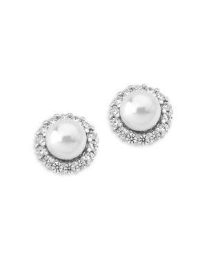 Mood Faux-Pearl Stud Earrings