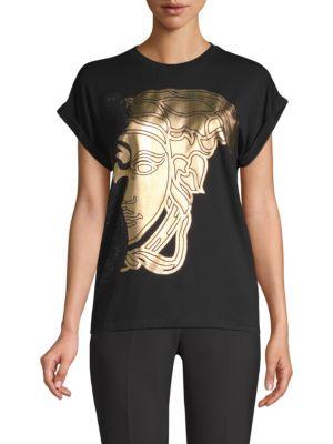 Gold Medusa Tee