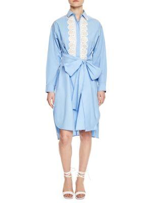 Cox Button-Front Dress