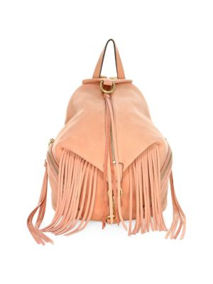 Stevie Medium Leather Backpack