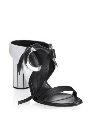 Moji Mirror-Heel Sandals