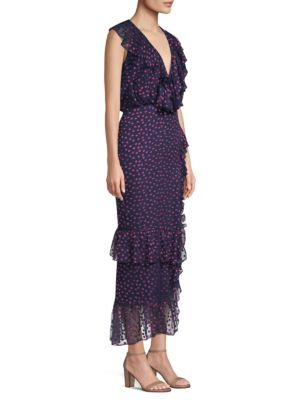 Anita Silk Midi Dress