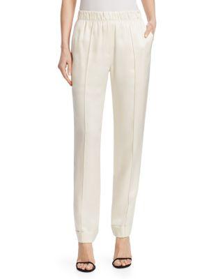 Stretch Silk Pants