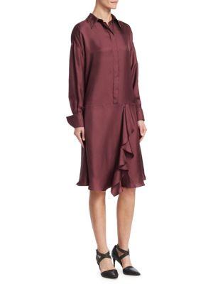 Twill Silk Dress