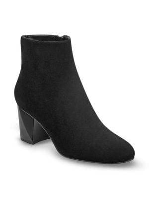 Hadlee Leather Booties