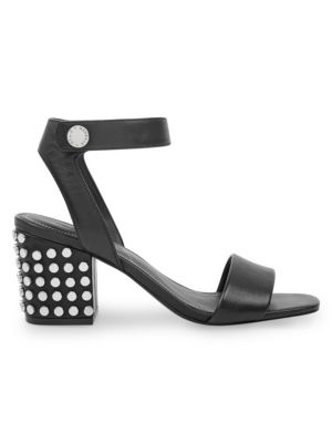 Sophie Studded Block Heel Sandals