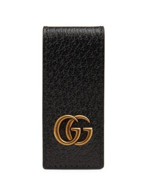 GG Marmont Leather Money Clip