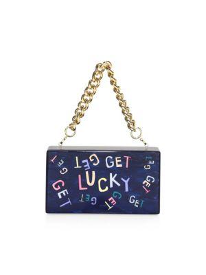 Get Lucky Jean Clutch