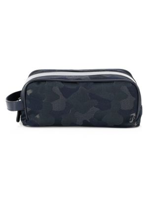COLLECTION Canvas Nappa Leather Dopp Kit