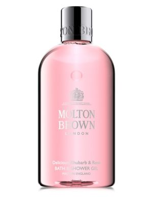 Delicious Rhubarb and Rose Bath and Shower Gel