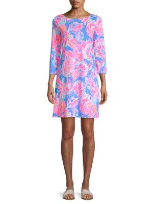 Noelle Floral-Print Dress