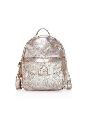 Melissa Distressed Metallic Backpack