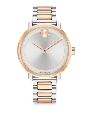 MOVADO Stainless Steel Two-Toned Bracelet Watch