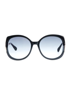 Lila 57MM Round Sunglasses