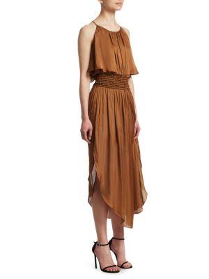 Smocked Popover Dress