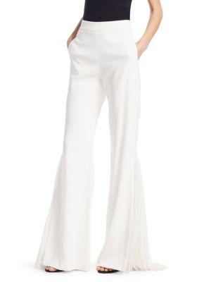 Lingerie Lace Wide-Leg Pants