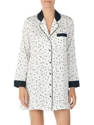 Polka-Dot Pajama Shirt