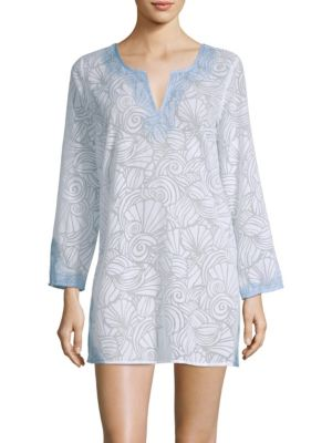 Nautilus Shell T-Shirt Dress