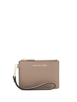 Mercer Color-Block Pebbled Leather Coin Purse