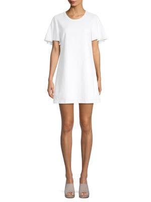 Cotton Popover Dress