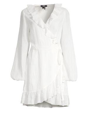 Shawna Ruffle Wrap Dress
