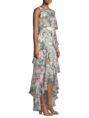 Kimberly Ruffle High-Low Dress