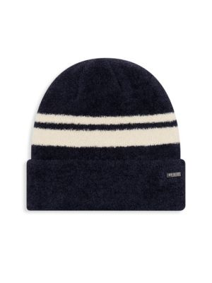 NEW ERA Velvet Cuff Beanie - Blue in Navy