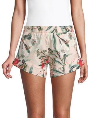MAISON DU SOIR Stevie Floral Shorts