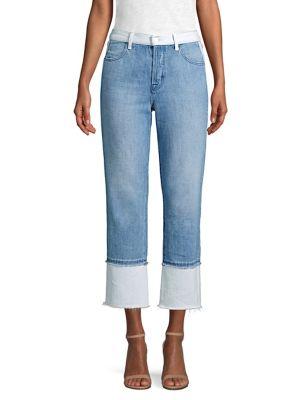 Wynne Cropped Straight-Leg Jeans