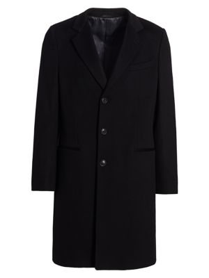 Wool & Cashmere Top Coat